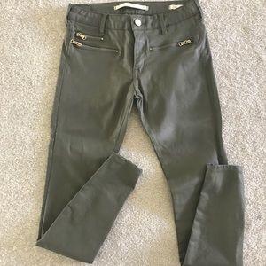 Zara premium coated jeans
